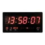 Reloj Led Digital, Fecha, Termómetro 35cm Visibilidad 40m