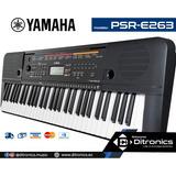 Teclado Yamaha Psr-e263 Incluye Adaptador Original