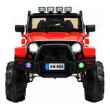 Carro Batería Jeep Niños Usb Led Otros Juguetes 2207v