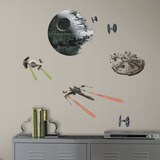 Adhesivos Star Wars Spaceship Para Muros