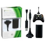Bateria Recargable Con Cable Carga Y Juega Xbox 360