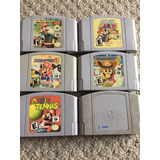 Juegos Nintendo 64 Mario Kart Paper Party Super Smash Tennis