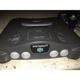 Nintendo 64 Maquina Funcional N64 Black Original Nes 1990