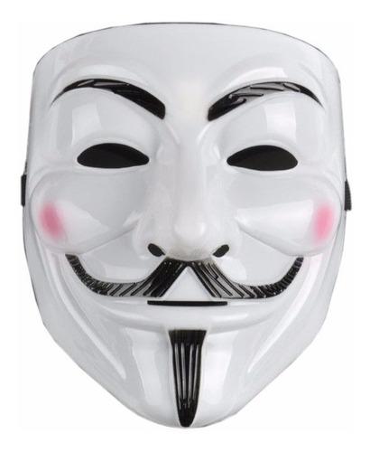 Mascara V For Vendetta Guy Fawkes  Anonymous