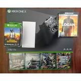 Xbox One X + Juego + Película 4k + Xbox Live Gold + Juegodig