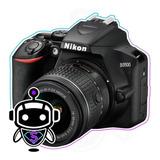 Nikon D3500 24.2mp + G R A T I S + Maleta + Tripode + 128gbb