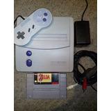 Super Nintendo Original No Incluye El Juego Zelda
