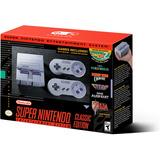 Super Nintendo Classic Mini Snes - 21 Juegos - Nuevo En Caja