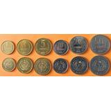 Monedas Mundiales Serie Uzbekistan 6 Monedas Nuevas Juego De