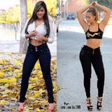 Jeans Levantacola Super Strech Importado Push Up Moldeadores