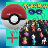Pokemon Go 1 Pokebola Pokeball + 6 Figuras Muñecos Pokemon