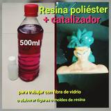 Resina Poliester + Catalizador