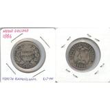 Monedas Mundiales Ecuador Medio Décimo 1886 Vf/f