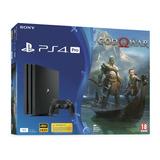 Playstation 4 Pro 1tb + God Of War 4 + Pes2020 | Ps4, Play 4