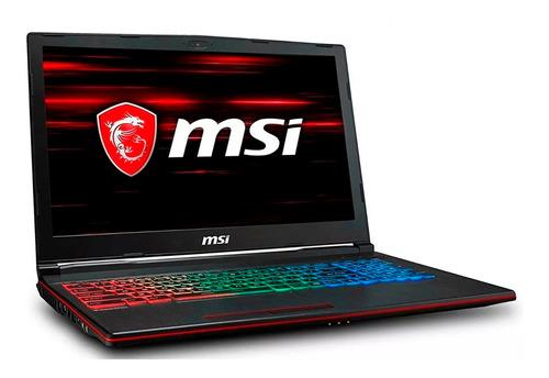 Laptop Msi Leopard I7 8va 16gb 256gb Ssd 1tb Gtx1060 6gb