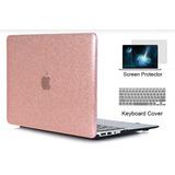 Case Clear Pink Para Macbook Air 13 Modelo A13-69 A1466