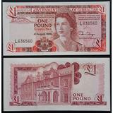 Billetes Mundiales : Gibraltar 1 Pound 1988 Billete Nuevo
