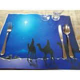 Individuales, Servilletas, Tapetes Navidad Diversos Diseños