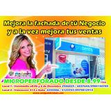 Publicidad De Ventanas, Microperforado Desde 7.99 Vinil