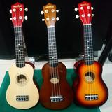 Ukelele Soprano Nashville Ukulele + Estuche Y Vitela