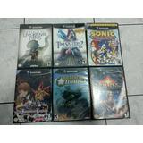 Lote De Juegos De Gamecube - Con Caja Y Manuales