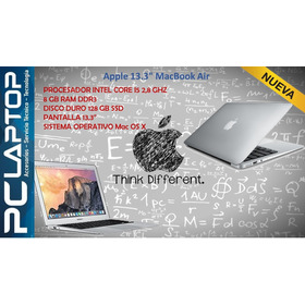 Apple Macbook Air 13 2017 Core I5 8gb 128gb