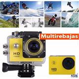 Camara Deportiva Go Pro 4k Wifi Action 30 M Full Hd 1080