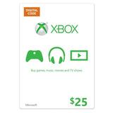 Código Digital Tarjeta Xbox One De Saldo Envío Rápido