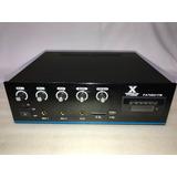 Amplificador Musica Ambiental Perifoneo Usbsd Fm Aux70-100v
