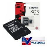 Tarjeta De Memoria Microsd Kingston 8gb Clase 10