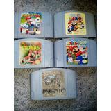 Coleccion Mario Kart Paper Golf Party Nintendo 64 Originales