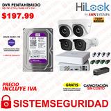 Kit 4 6 816 Camaras Seguridad Cctv 720p Hilook By Hikvision