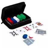 Set De Aluminio De Poker 200 Fichas Barajas Dados