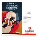Libro Calculo Diferencial E Integral Granville, Libro Físico