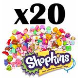 Caja Colección 20 Shopkins Figuras Juguetes Regalo Niñas