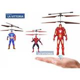 Super Heroes Volador Con Helices De Helicopteros