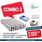 Colchones 2 Plz Promociones , Almohadas , Sabanas, Gratis