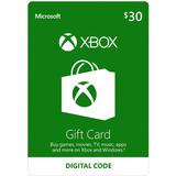Tarjeta De Saldo Xbox $30 Gift Card Para Xbox 360 / One