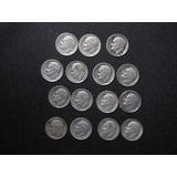Moneda De 1 Dime (10 Centavos)  Usa Plata