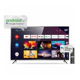 Tv Tcl 55 4k Android 2020 Control Voz L55p8m Soporte Gratis.