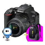 Nikon D3500 24.2mp + G R A T I S + Lente + Memoria + Maleta