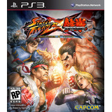 Street Fighter X Tekken - Playstation 3 - Oferta Digital