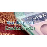 Tramite Visa Americana Estados Unidos Visado Turismo Estudio