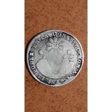 Moneda Antigua, 4 Reales, 1842, Predecimal, M,v, Ecuador,vf