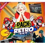 Videos Remix Retro Pack Clasicos 60 70 80 90 Para Dvjs -mega
