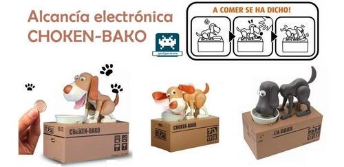 Alcancía Perro Come Monedas Electrónica Choken Bako
