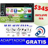 Radio De Auto Gps / Dvd / Android / Wifi / Tv / Bluetooth