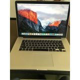 Apple Macbook Pro Retina 15   I7  2.2ghz 16gb 256gb Ssd