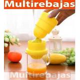 Exprimidor De Naranja Manual Con Taza De Medida
