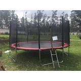 Saltarín-trampolin Con Escalera E Instalación  8, 12 Pies